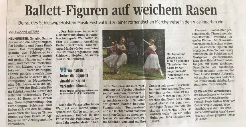 Presse romantische Märchen Petra Schönke